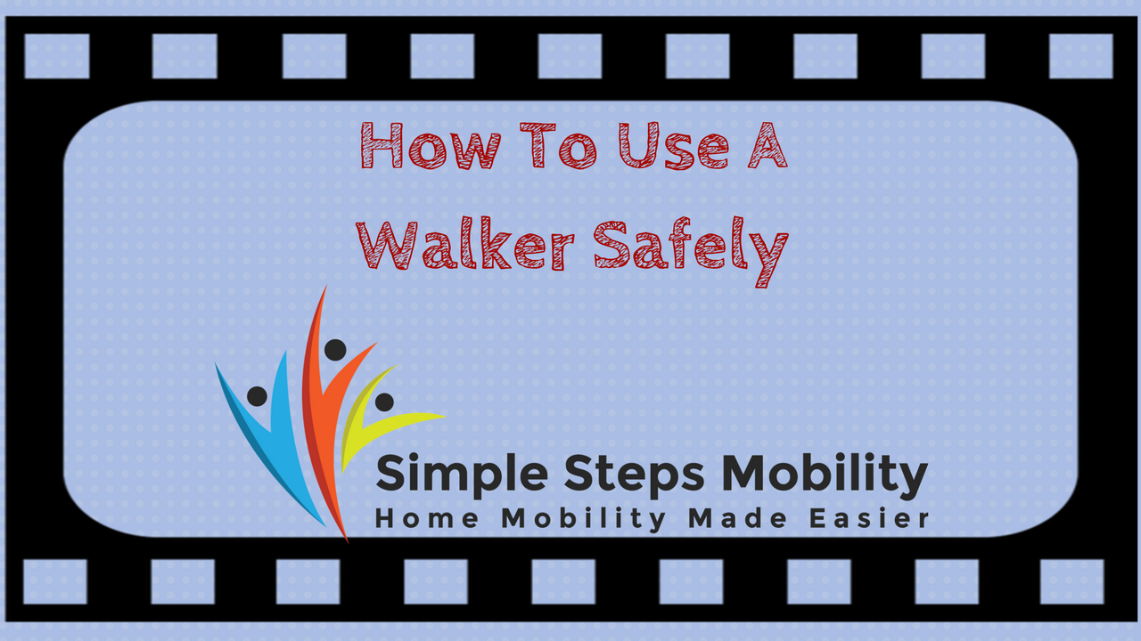 How To Use A Walker Safely