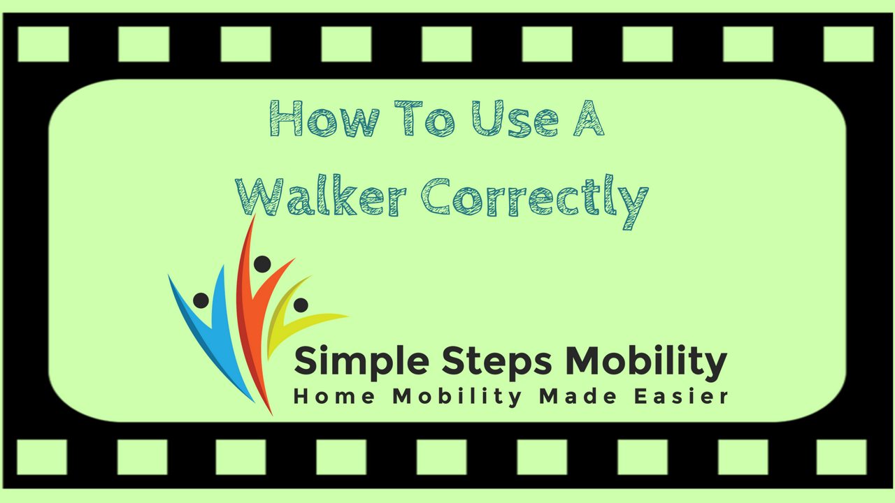 How You Can Use A Walker Correctly.