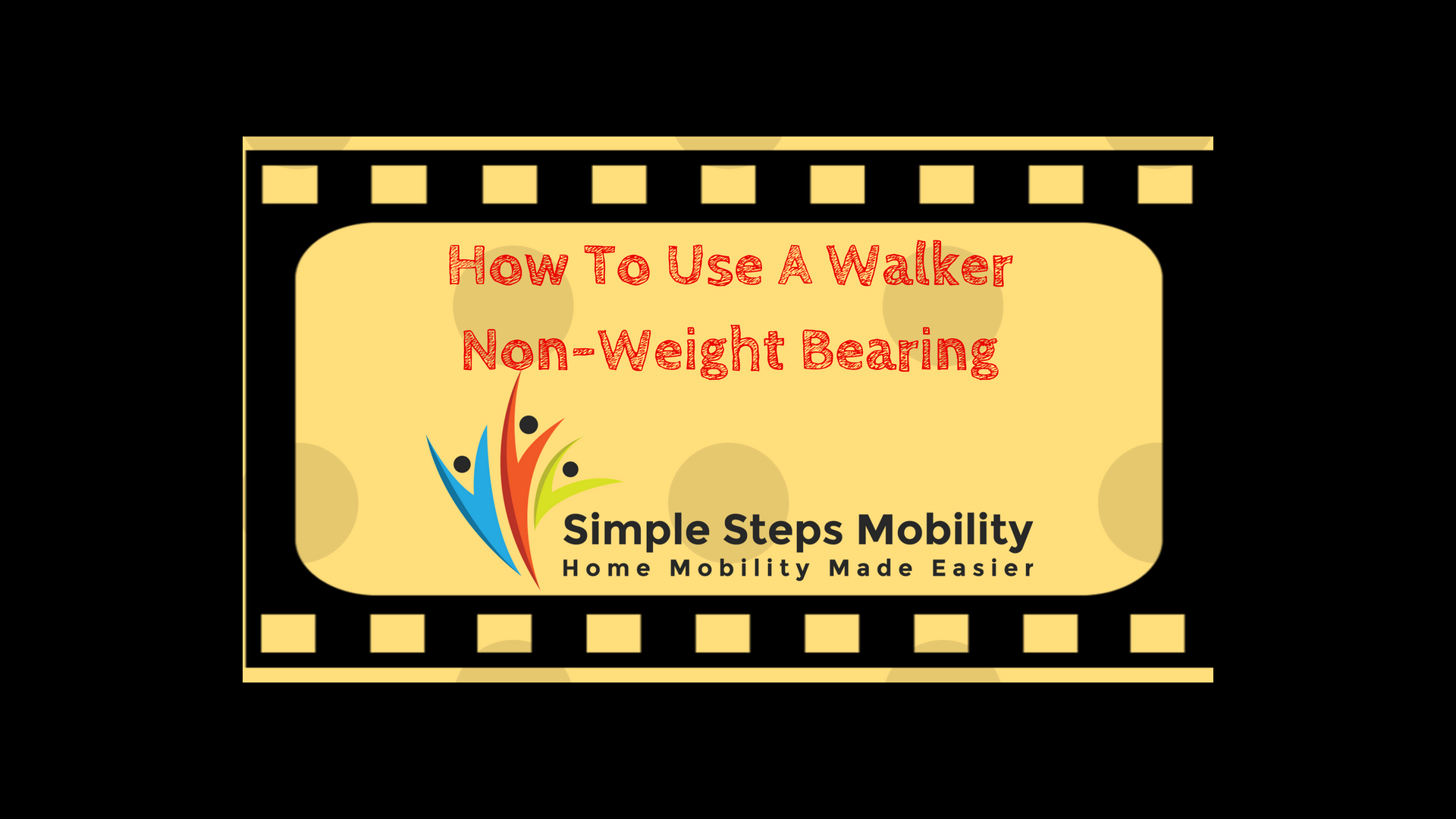 How To Use A Walker Non-Weight Bearing